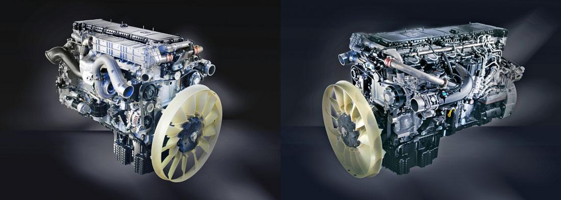 Mercedes Euro VI mootori pildid I
